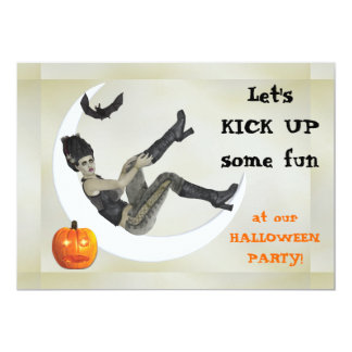 Maman de mauvais goût Halloween Party de Carton D'invitation 12,7 Cm X 17,78 Cm