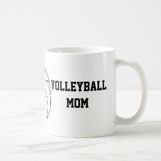 Maman de volleyball mug