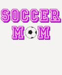 Maman du football t-shirt