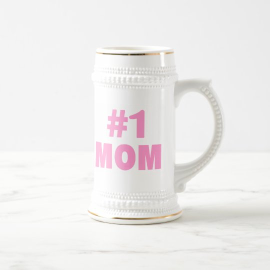Mamma #1 (Rosa) Bierkrug