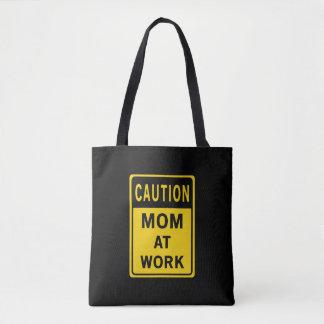 Mamma an der Arbeits-Taschen-Tasche Tasche