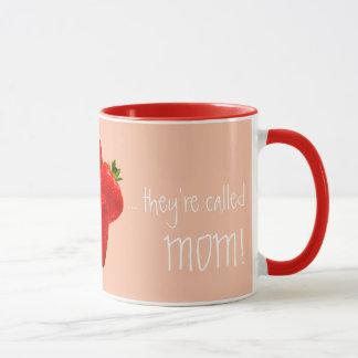 Mamma: Besser als Erdbeerentwurf Tasse