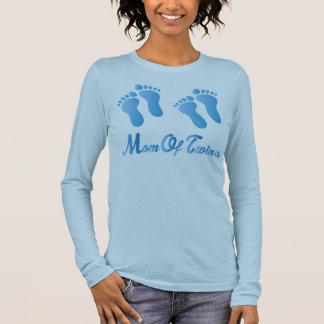 Mamma des T-Shirts Zwillings-der blauen