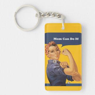 Mamma kann es tun Vintage Schlüsselkette Schlüsselanhänger