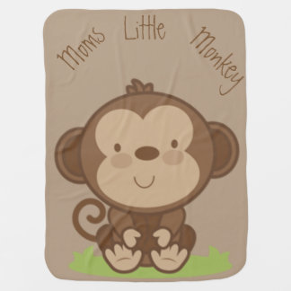 Mamma-kleiner Affe Babydecken