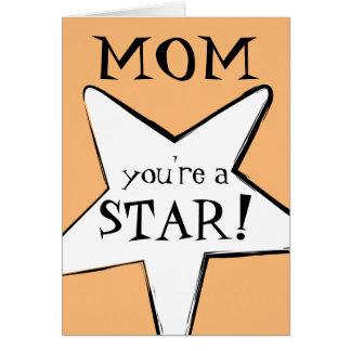Mamma, Mama: Sie sind ein Stern! Mit Karte