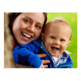 Mamma und Baby Postkarte