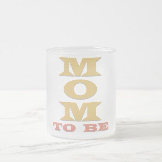 MAMMA, zum T-Shirts und Geschenke zu sein Mattglastasse