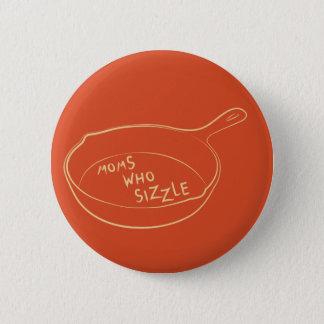 Mammen, die Knopf Sizzle Runder Button 5,1 Cm