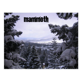 Mammoth Mountain Postkarte