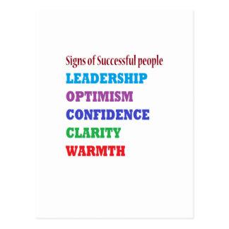 Management zitiert Klugheits-Wörter über Führung Postkarte