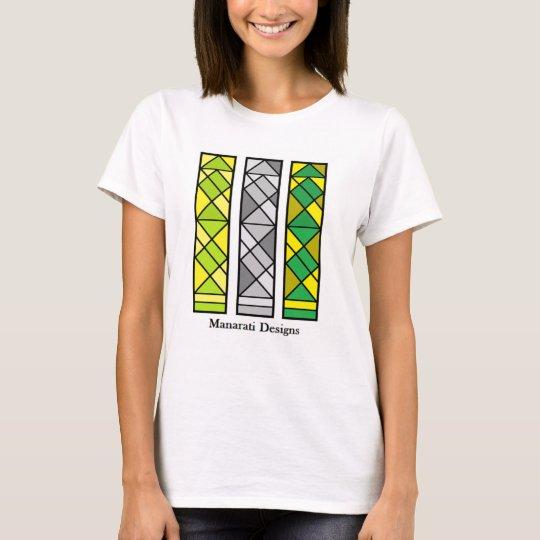 Manarati Handasi vertikaler Frauen-T - Shirt