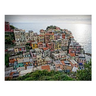 Manarola - das Cinque Terre - Italien-Postkarte Postkarte