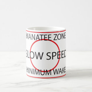 Manatis-Zonen-Minimum weckt Kaffeetasse