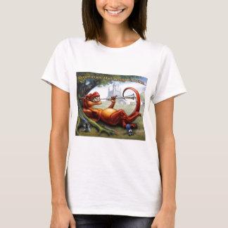 Manchmal die Drache-Gewinne T-Shirt
