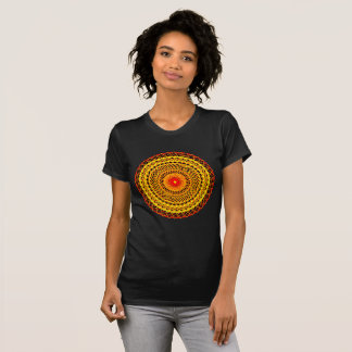 Mandala Apparel Crew Neck T-Shirt für Frauen