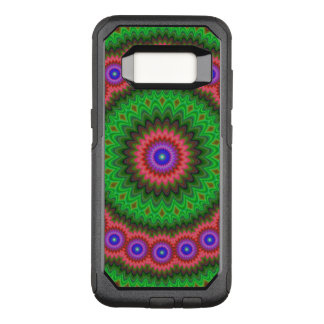 Mandala-Blumenblumenstrauß OtterBox Commuter Samsung Galaxy S8 Hülle