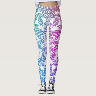 Mandala bunt leggings