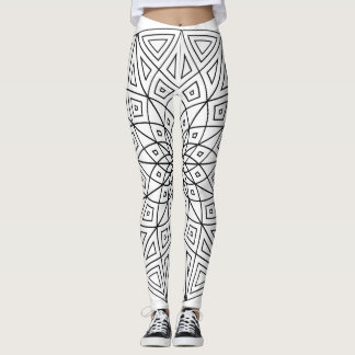 Mandala der Mode Leggings