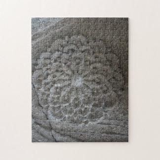 Mandala geschnitztes SteinFoto-Puzzlespiel mit