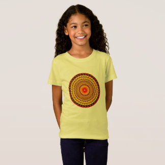 Mandala Girls' Fine Jersey T-Shirt