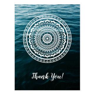 Mandala ließ SeeSet Sie frei Postkarte
