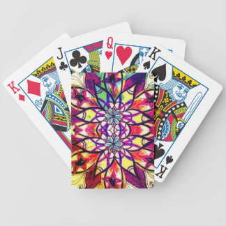 Mandala-Magie Bicycle Spielkarten