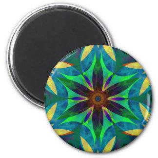 Mandala Magnet Harmonius Magnet Rond 8 Cm