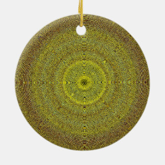 Mandala-Weihnachtsbaum-dekorative Verzierung Keramik Ornament