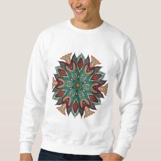 Mandalaentwurf Sweatshirt