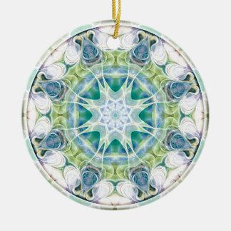 Mandalas vom Herzen der Freiheit 12 Geschenke Keramik Ornament