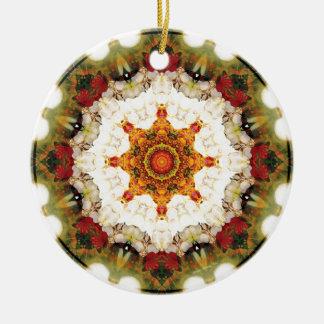 Mandalas vom Herzen der Freiheit 16 Geschenke Rundes Keramik Ornament