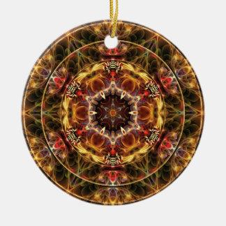 Mandalas vom Herzen der Freiheit 17 Geschenke Rundes Keramik Ornament
