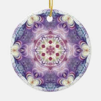 Mandalas vom Herzen der Freiheit 18 Geschenke Rundes Keramik Ornament