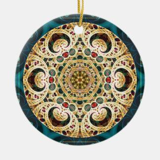Mandalas vom Herzen der Freiheit 22 Geschenke Rundes Keramik Ornament