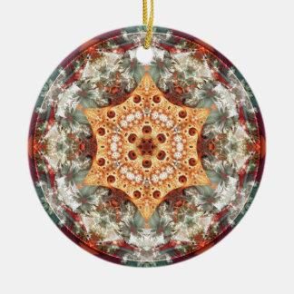 Mandalas vom Herzen der Freiheit 24 Geschenke Keramik Ornament