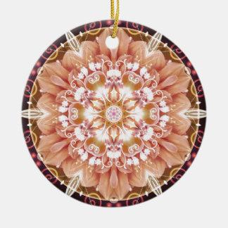 Mandalas vom Herzen der Freiheit 2 Geschenke Keramik Ornament