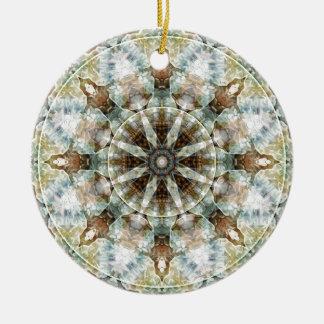 Mandalas vom Herzen der Freiheit 3 Geschenke Keramik Ornament