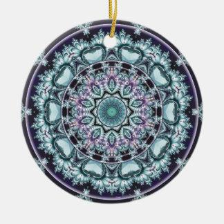 Mandalas vom Herzen der Freiheit 4 Geschenke Keramik Ornament
