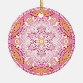 Mandalas vom Herzen der Geschenke der Freiheits-1 Keramik Ornament