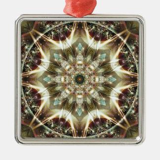 Mandalas vom Herzen von Änderung 10, Silbernes Ornament