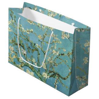 Mandel-Blüte durch Van- Goghschöne Kunst Große Geschenktüte