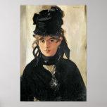 Manet | Berthe Morisot avec un bouquet des