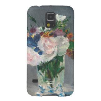 Manet | Blumen in einem Kristallvase, c.1882 Samsung S5 Cover