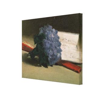 Manet | Blumenstrauß der Veilchen, 1872 Leinwanddruck