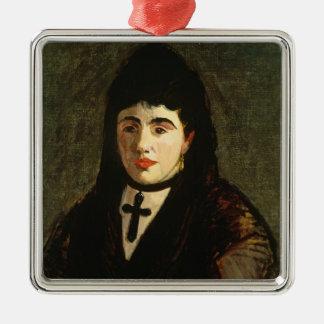 Manet | der Spanier Silbernes Ornament