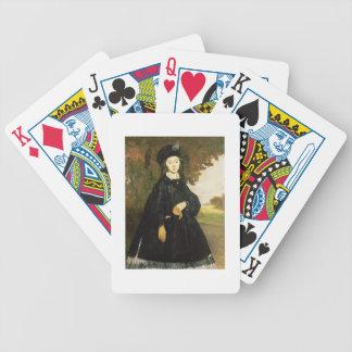 Manet | Madame Brunet Bicycle Spielkarten
