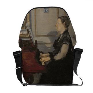 Manet | Madame Manet am Klavier, 1868 Kurier Taschen