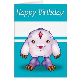 Manga Monster-alles Gute zum Geburtstag Karte