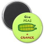 Mangez de votre légume donnent à des POIS un aiman